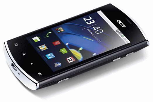 Бюджетный Android-смартфон Acer Liquid Mini E310