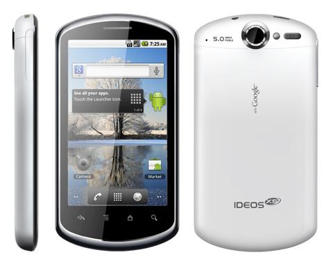 Бюджетный смартфон-коммуникатор Huawei Ideos x5 (Pro)