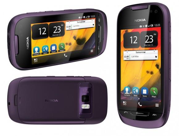 Смартфон-коммуникатор Nokia 701