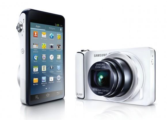 "Цифровой фотоаппарат Samsung Galaxy Camera c 3G-модулем и Android ""на борту"""