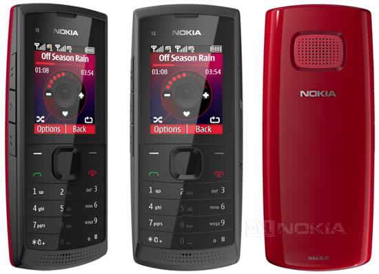 Бюджетный Dual-SIM сотовый телефон Nokia X1-01