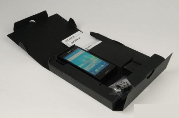 упаковка Sony Xperia Ion