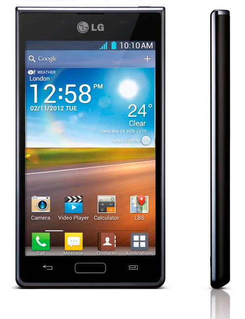 Android-смартфон LG Optimus L7 P700