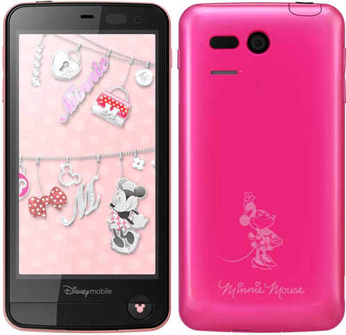 Детский смартфон Sharp Softbank DM013SH Disney Mobile