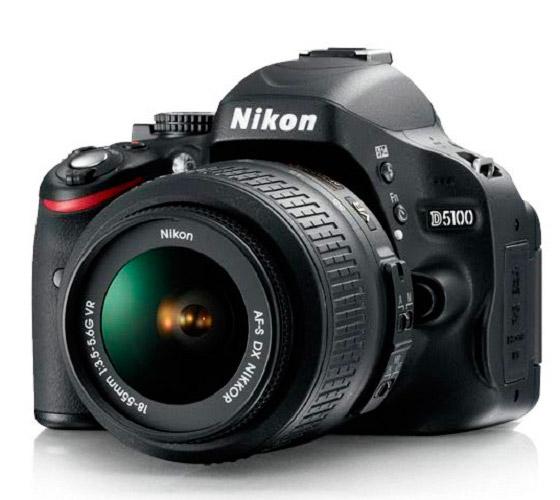 Зеркальный фотоаппарат начального уровня Nikon D5100