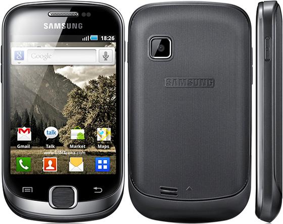Смартфон-коммуникатор Samsung Galaxy Fit S5670